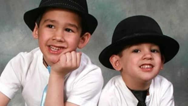 Connor Barthe, 6, and his brother Noah, 4, were killed in August 2013 by an African rock python. (Facebook/Canadian Press)