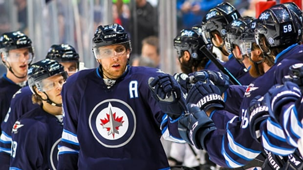 """Winnipeg veteran Blake Wheeler says it's an """"honour"""" to wear an NHL jersey, and that ads would """"tarnish"""" that experience."""