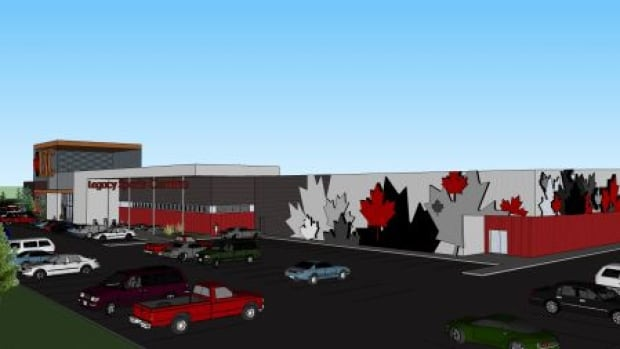 A new lacrosse facility is planned for Glenmore Trail and Ogden Road.