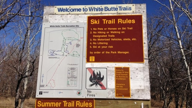 The White Butte trails are well-used by hikers and cross country skiers.