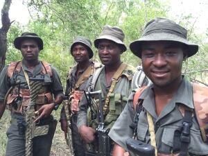 Kruger Park Rangers on patrol