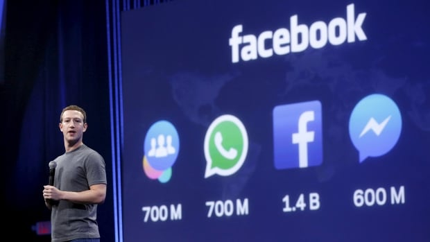 Facebook CEO Mark Zuckerberg touts his company's millions of users across multiple platforms at a recent conference in San Francisco. The tracking practices of the social media giant are criticized in a report commissioned by the Belgian Privacy Commission.