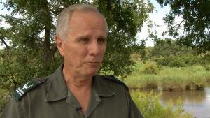 Maj.-Gen. Johan Jooste at Kruger National Park
