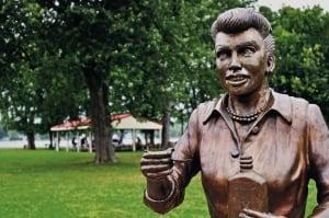 Lucille Ball Hometown Statue