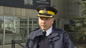 RCMP Insp. Archie Thompson