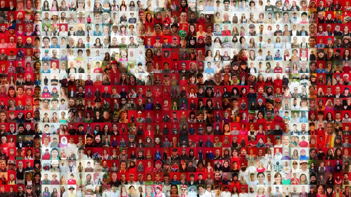 Tim Van Horn S Mosaic Canadian Flag Photo Shoot Comes To