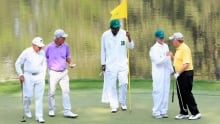 Jack Nicklaus fires ace in Masters par-3 tourney