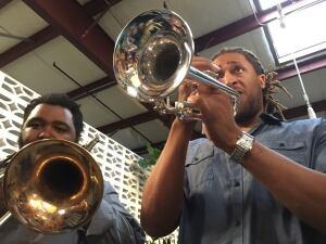 Daybreaker horn section