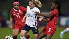 France downs Canada in women's soccer friendly