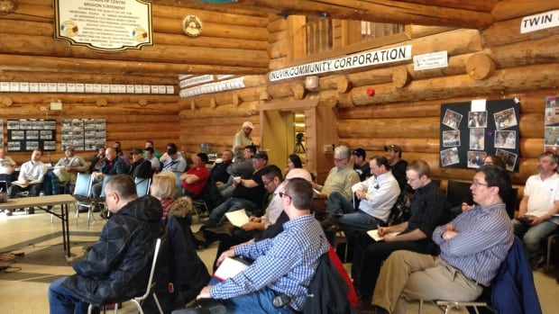Just over 30 people attended a session last night in Inuvik about proposed new rules for hydraulic fracturing that would apply to operations in the entire territory.