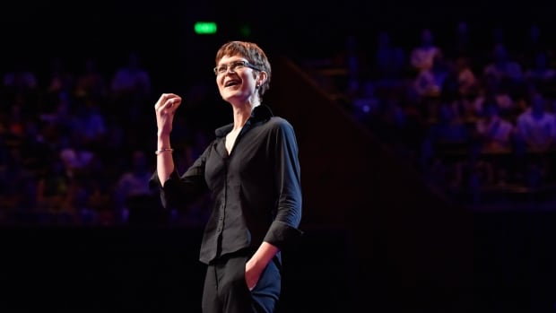 Nicole Vincent talking about cognitive enhancement drugs and responsibility at TED Talk in Sydney, Australia on April 26, 2014