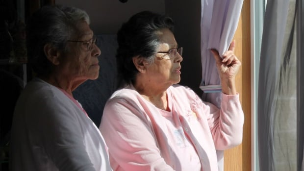 As residential school survivors, sisters Bonnie Angel and and Jackie Leech are eligible for an education credit. They applied in July of 2014, but have yet to receive the money they need to start their computer class.