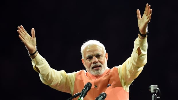 Indian Prime Minister Narendra Modi got a rock star reception at Madison Square Garden in New York last September. Experts say Modi's popularity, both in India and abroad, is part of an elaborate strategy that could mask worrisome elements of his leadership.
