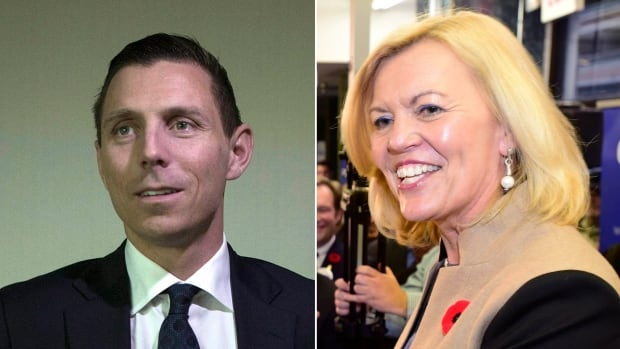 The Ontario PC leadership contest has come down to two candidates -- Barrie MP Patrick Brown and MPP Christine Elliott.