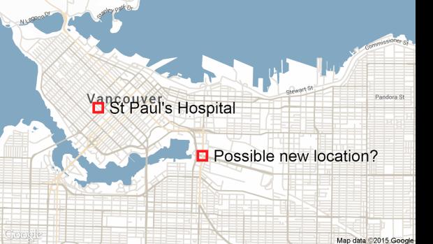 St Paul's Hospital renewal