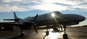 Carson Air SA226 plane