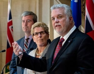 Ontario, Quebec cap-and-trade agreement