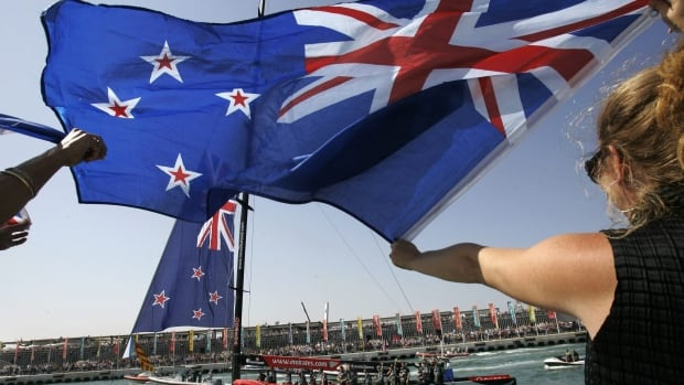 New Zealand's dollar is poised to surpass the value of Australia's for the first time since the two countries floated their currencies