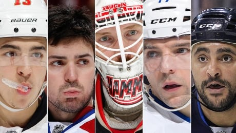 Stanley Cup Playoffs: Key Players On Canadian Teams