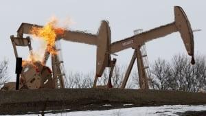 U.S. oil derrick