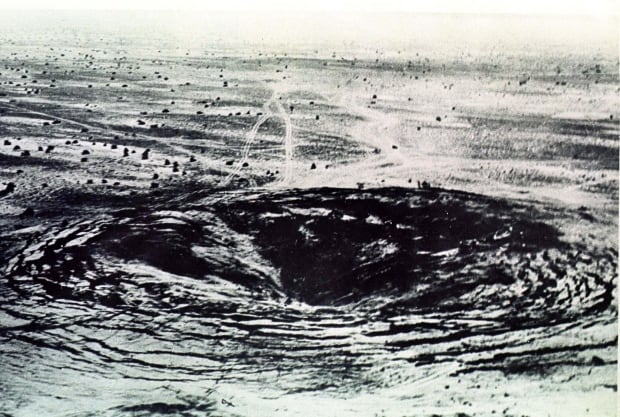 INDIA'S FIRST NUCLEAR EXPLOSION AT POKHARAN IN RAJASTHAN FILE PHOTO.