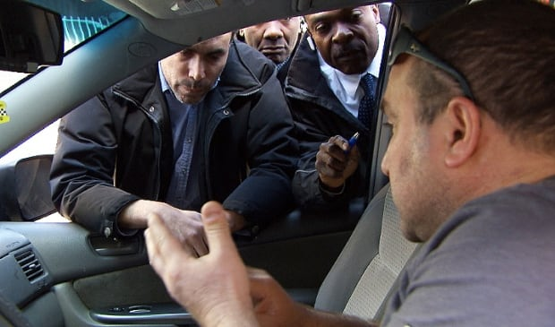 Uber cab Montreal