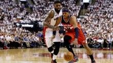 Raptors drop playoff opener to Wizards in OT