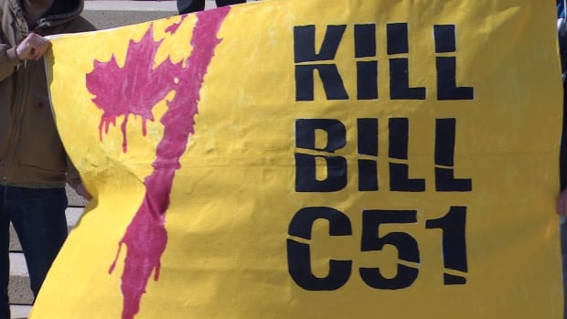 More than 60 conservative and libertarian opponents of the government's proposed new anti-terror law have signed a letter calling on Prime Minister Stephen Harper and his caucus to 'kill Bill C-51,' which is currently undergoing a final round of debate in the Senate,