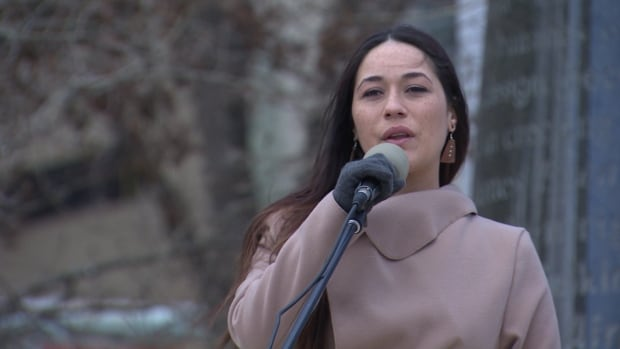 Law student Jenna Broomfield says she fears Bill C-51 could be abused, silencing critics of the country's aboriginal and environmental policies.