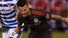 Toronto FC held off by Dallas in weather-delayed match
