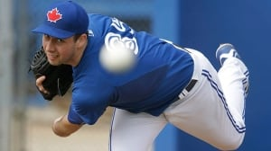 Jeff Francis, Canadian pitcher, called up by Blue Jays