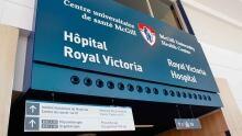 MUHC Royal Victoria Hospital sign