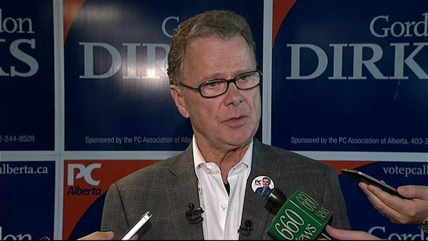 PC candidate Gordon Dirks, who is also education minister, is being criticized failing to attend a forum on education issues in Calgary on Tuesday.