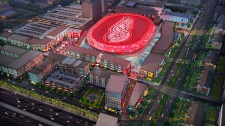 Red Wings' $450M Arena Approved By Council