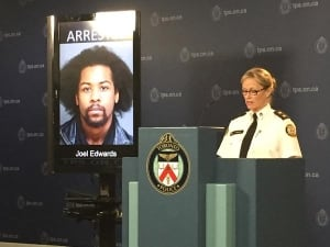 Police announce arrests