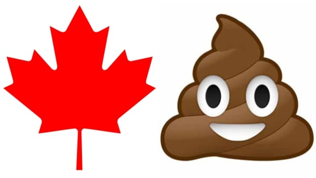 Canadians are the biggest smiling poop emoji fans in the world, according to an international report on emoji use by country.