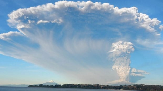 Donna Wanless had been hiking the Osorno volcano in Chile and was taking the local bus back to Puerto Varas when, 25 kilometres away, another volcano, Calbuco, erupted. She took this dramatic photo of the massive plume emanating from the volcano, which could be seen as far away as neighbouring Argentina.
