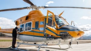 Wisk Air Bell 412 helicopter