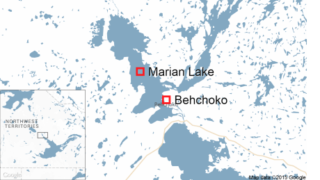 Trio retrieves 'distraught' person from ice near Behchoko
