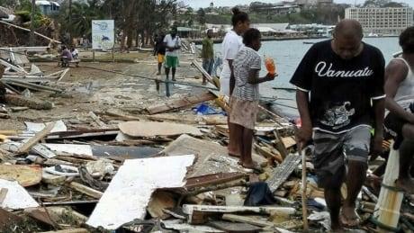 Vanuatu disaster