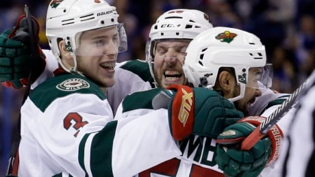 Wild Take Series Lead With Romp Over Blues