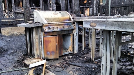 Forgotten BBQ blamed for fire that forced 10 from homes in southwest