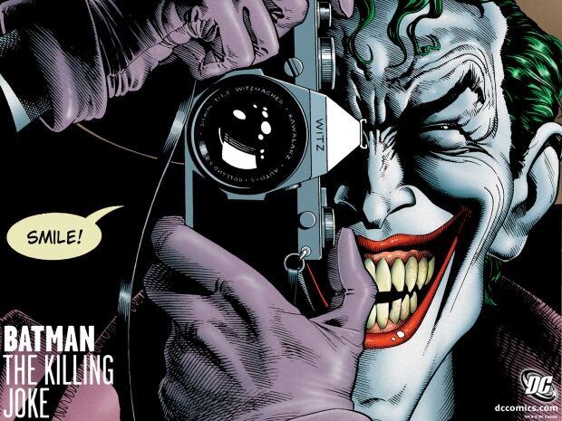 Batman The Killing Joke cover art