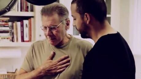 Harrison Ford and David Blaine