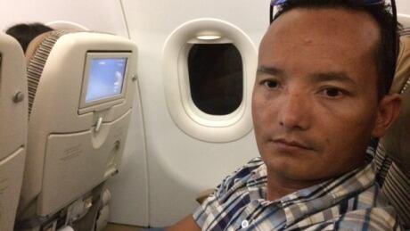 Flight to Kathmandu