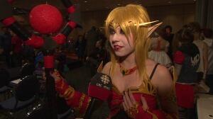 Jasper Hyde dressed as blood elf princess