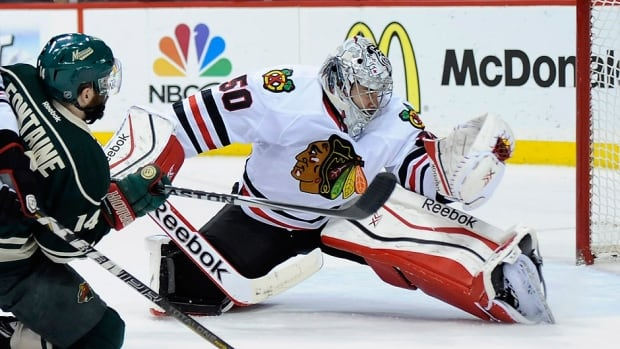 Corey Crawford To Start In Goal For Blackhawks In Round 2
