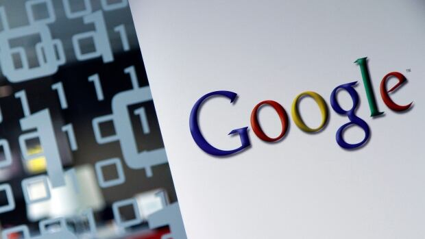 The Google logo is seen at the Google headquarters in Brussels. Google said in a statement Tuesday it is establishing the $198 million Digital News Initiative together with eight leading publishers, including the Financial Times and the Guardian.