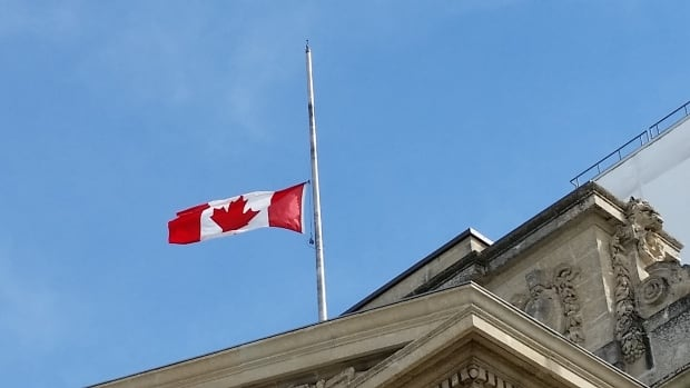 Canadian Flags Half Mast Flags Have Been at Half-mast
