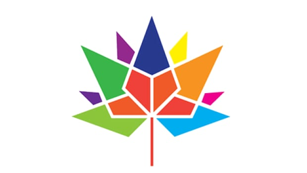 The official logo to mark the 150th anniversary of Confederation was designed by University of Waterloo student Ariana Cuvin.